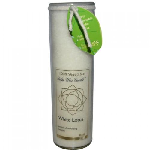 Aloha Bay Chakra Candle Jar White Lotus - 16 oz