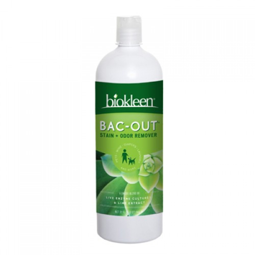 Biokleen Bac - Out Stain and Odor Remover 32 fl oz - Case of 12