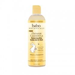 Babo Botanicals Bubble Bath and Wash - Oatmilk Calendula (1, 13.5  oz.)