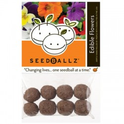 Seedballz Edible Flowers - 8 Pack