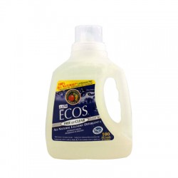 Earth Friendly Ecos Ultra 2x All Natural Laundry Detergent - Free and Clear - 100 fl oz
