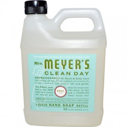 Mrs. Meyer's Clean Day Liquid Hand Soap Refill - Basil - 33 oz