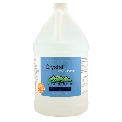 Eco Cleaner Crystal Glass Cleaner, 1 gal.