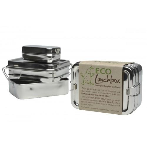 ECOlunchbox three-in-one set