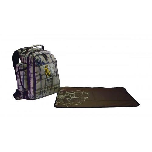 Diaper Backpack, Bamplaidboo.
