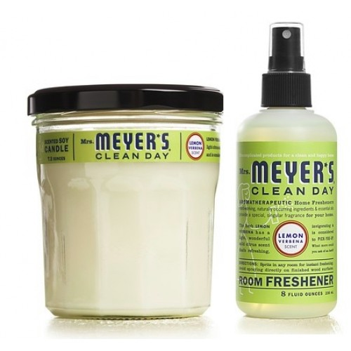 Mrs. Meyers Clean Day Room Refresh Kit Lemon Verbena