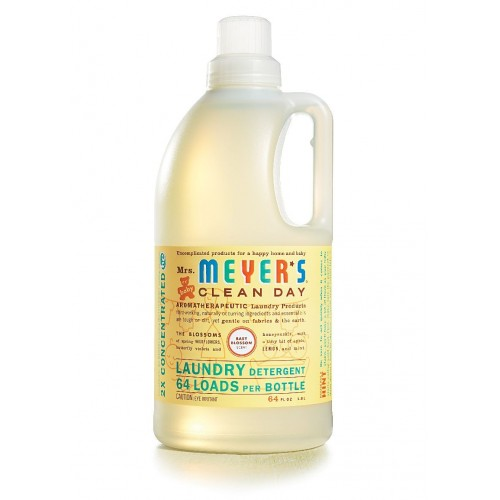 Mrs. Meyer's Clean Day Baby Blossom Laundry Detergent 64 Loads, 64 oz