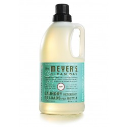 Mrs. Meyer's Clean Day Laundry Detergent 64 Loads, Basil, 64 oz