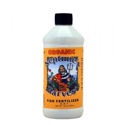 Neptune's Harvest Organic Hydrolyzed Fish Fertilizer, 2-4-1, 1 Pint