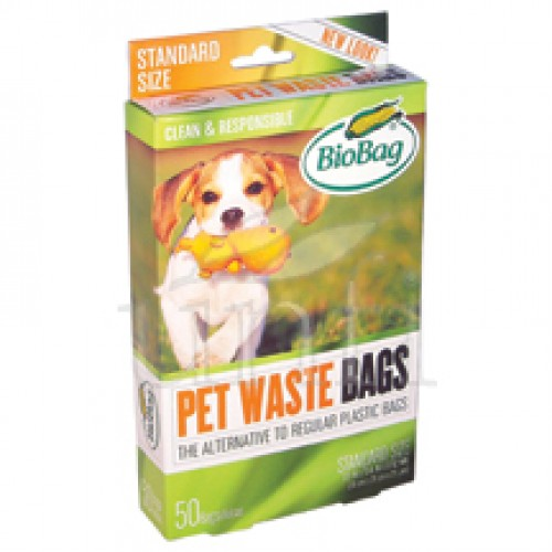 BioBag Dog Waste Bags - 50 Count