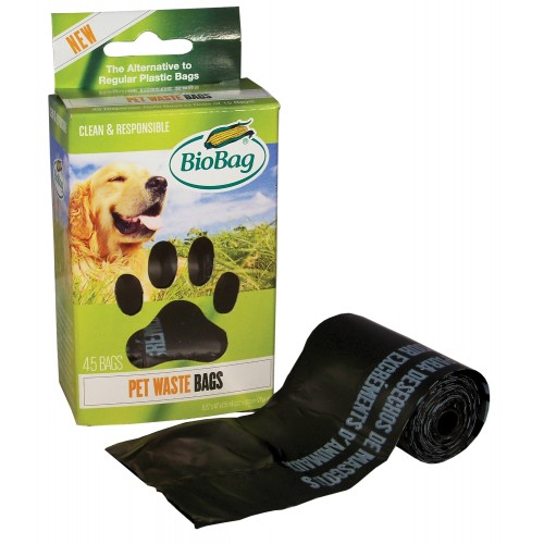 BioBag Dog Waste Bags,On A Roll - 45 Ct