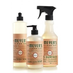 Mrs. Meyer's Clean Day Kitchen Basics Set - Geranium