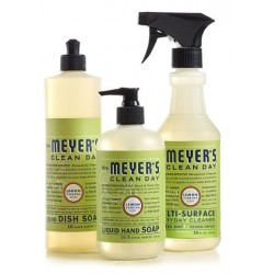 Mrs. Meyer's Clean Day Kitchen Basics Set - Lemon Verbena