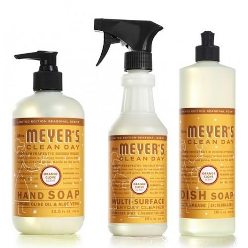 Mrs. Meyer's Clean Day Kitchen Basics Set - Orange Clove